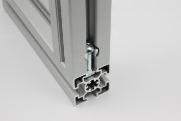 aluprofile verbinder metallteile verbinden. Black Bedroom Furniture Sets. Home Design Ideas