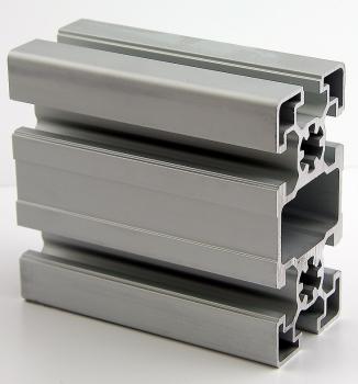 Aluminiumprofil 40x40L I-Typ Nut 8 12,50 EUR//m + 0,25 EUR pro Schnitt, min. 2,50 EUR 50mm Zuschnitt 50mm-2000mm